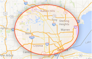 Highly Recommended Burst Pipe Repair serving Mount Clemens | Plumber Restoration - county-map