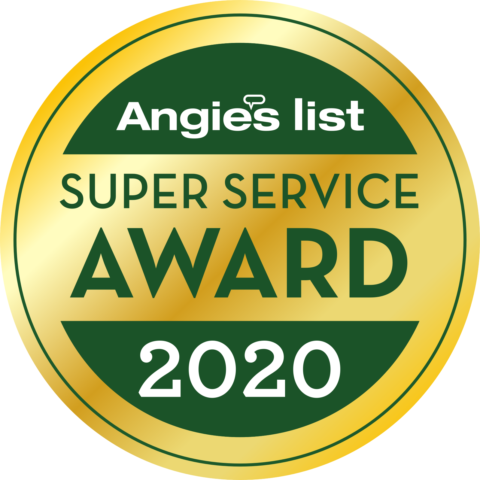 Angie's List - Super Service Award - 2020