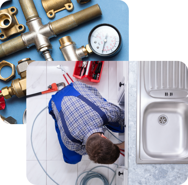 Bloomfield Hills Plumbers: 24/7 & Same-day Service | Plumber Restoration - homepage content image collage